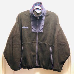 VTG 90s COLUMBIA Fleece Full Zip Jacket